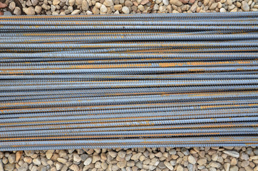 Steel bars for concrete reinforcement