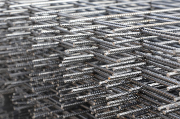 Steel mesh for construction