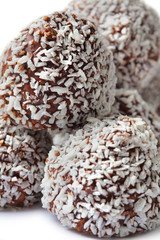 .Chocolate And Coconut Ball
