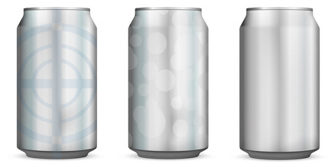 Aluminum Can *** 2 designs + 1 blank