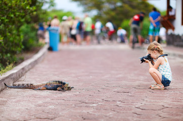Young nature photographer