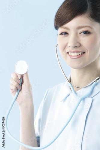 看護師・ブルーバック