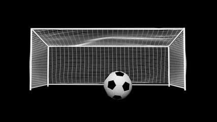 Soccer Goal (w/alpha)