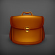 Briefcase, old-style