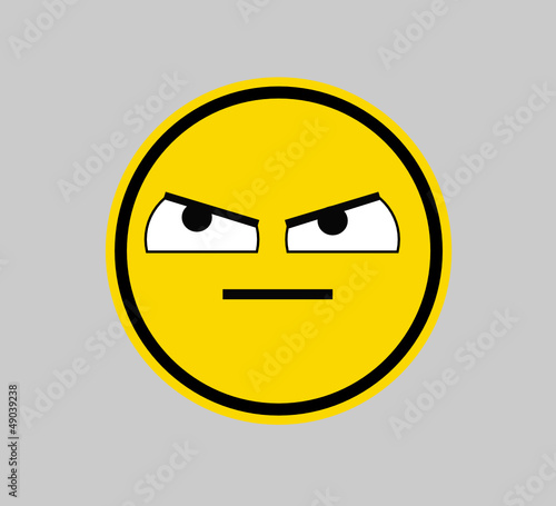 Frowning- SMILEY FACE