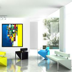 Modern Art Exhibition (detail)