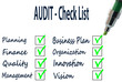 AUDIT - Check List