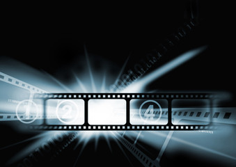 Cinema film background
