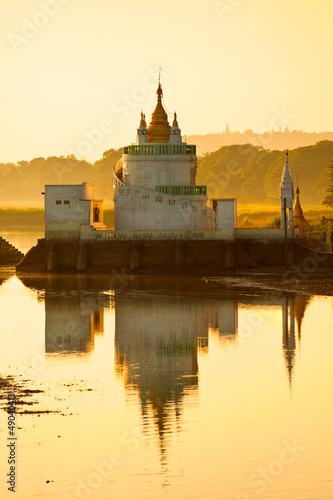 Amarapura ,Mandalay, Myanmar.
