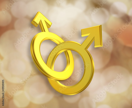Union of Male Symbols