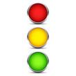 Button Ampel