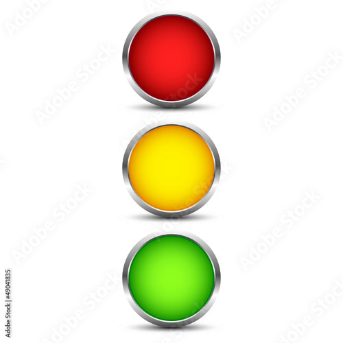 Button Ampel