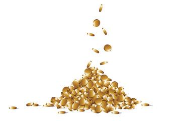 Geld,Gold,Goldberg,Haufen