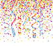 Confetti, 7 Colored Streames & Stars