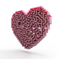 heart labyrinth