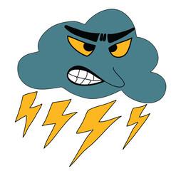 Thunderbolt Storm Weather