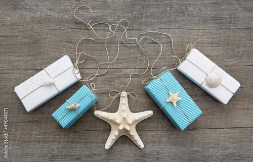 Geschenke maritim verpackt - Maritime Dekoration