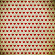 grunge background with hearts