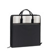 Black fabric laptop case