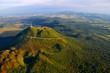 Leinwandbild Motiv Puy de dome et parc des volcans d'Auvergne