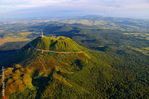 Papiers peints Volcan Puy de dome et parc des volcans d'Auvergne