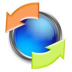 icone synchronisation