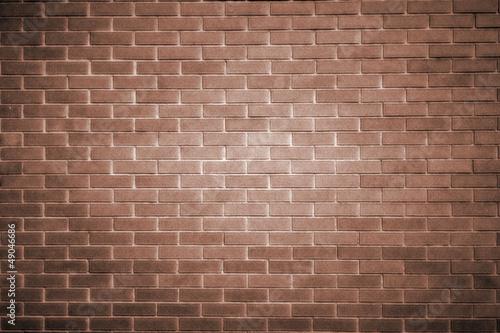 dunkelbraune Mauer...