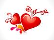 abstract creative heart