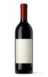 Bouteille de vin rouge vectorielle 1