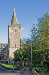 Holy Trinity church bradford on avon