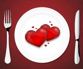 Menu Valentine III
