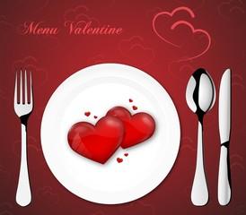 Menu Valentine II