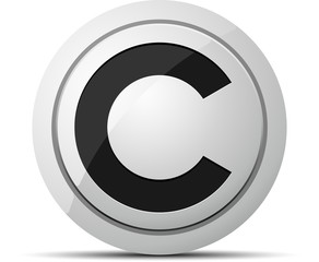 C button (CopyRight/Credi/Cent)