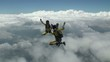 Skydiving video.