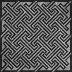 Geometric key pattern