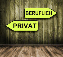 Privat - Beruflich