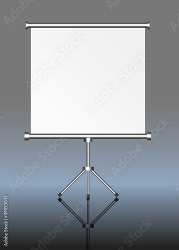 blank roll up display, roll up, free space for pix