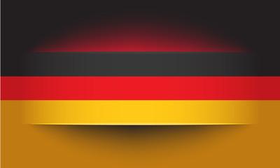 Banner in deutschen Farben