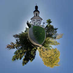 Mini planet church kosice