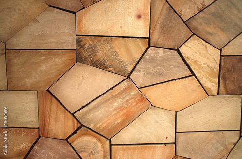 Piedras naturales irregulares marr n o beige moderno o for Piedras naturales