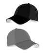 baseball cap_black+grey