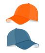 baseball cap blue+orange
