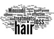 Common Hair Loss Treatments Concept