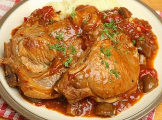 Italian Casseroled Pork Chops