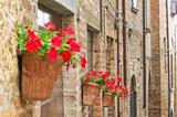 Fototapeta Uliczki - Alleyway. Castell'Arquato. Emilia-Romagna. Italy. © Mi.Ti.
