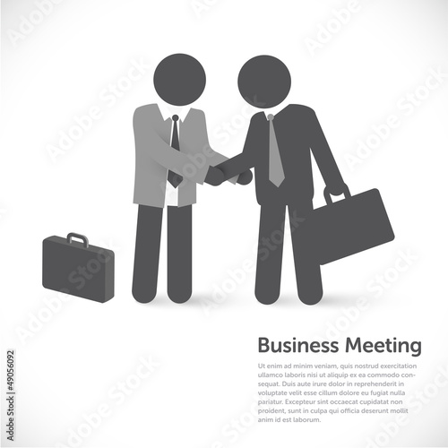 business meeting - investment / partner concept