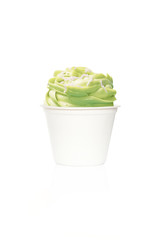 frozen yogurt kiwi