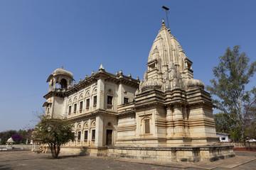 The cenotaphs at Shivpuri. Madhya Pradesh.