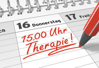 Terminkalender: Therapie