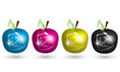 CMYK Apple Illustration